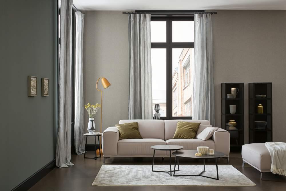 vliestapete sch ner wohnen marmor glanz grau gold 35912 6. Black Bedroom Furniture Sets. Home Design Ideas
