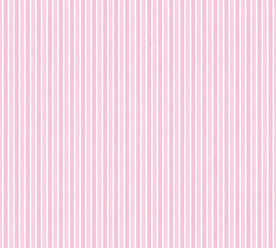 Kids Wallpaper stripes striped rose gloss 35565-1 online kaufen