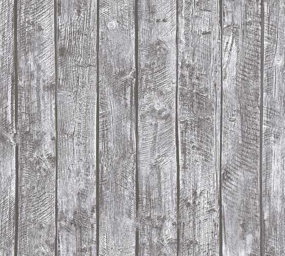 Kids Wallpaper wooden design boards grey 35841-2 online kaufen