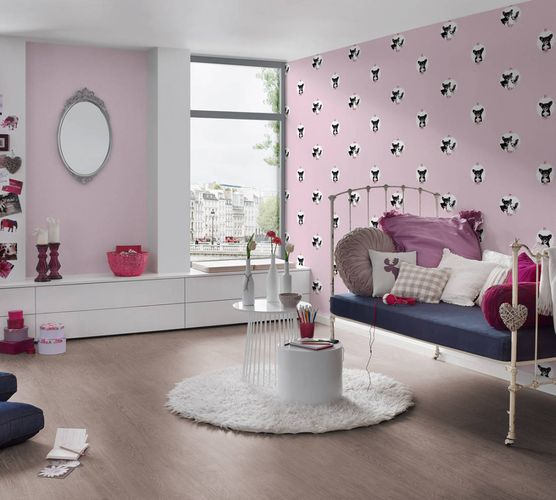 Kids Wallpaper Chihuahua dogs rose white 35851-1 online kaufen
