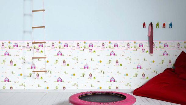 Kids Wallpaper plain design light blue 35566-5 online kaufen