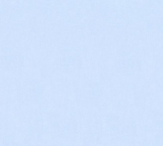 Kids Wallpaper Plain Textile Look light blue 35834-5