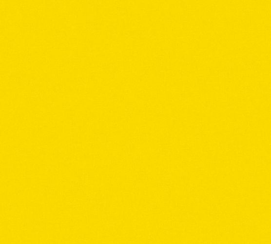 Kids Wallpaper plain design yellow 35834-7