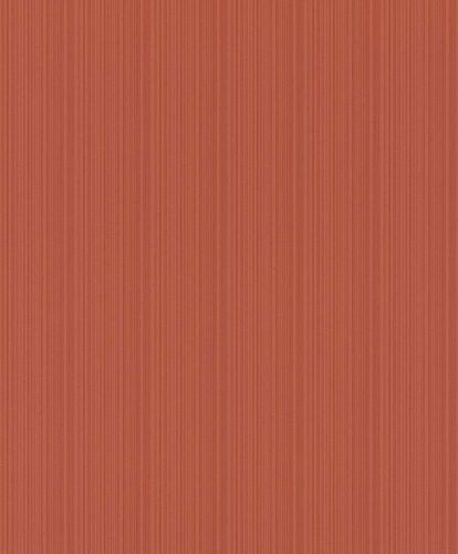 Non-woven Wallpaper Rasch stripes texture orange red 804225