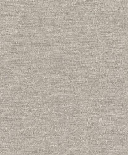 Non-woven Wallpaper Rasch plain texture beige grey 804300