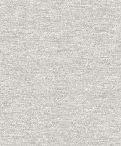 Non-woven Wallpaper Rasch plain texture grey 804331