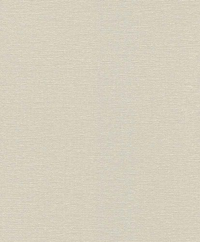Non-woven Wallpaper Rasch plain texture cream grey 804348 online kaufen