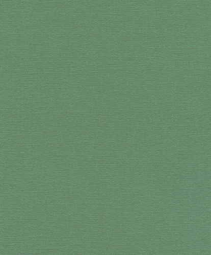 Non-woven Wallpaper Rasch plain texture green 804379
