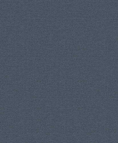 Vliestapete Rasch Uni Struktur dunkelblau 804508