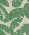 Non-woven Wallpaper Rasch tropical leaf grey green 805222 001