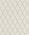 Non-woven Wallpaper Rasch vintage diamond grey beige 805413 001