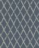 Non-woven Wallpaper Rasch vintage diamond blue grey 805437 001