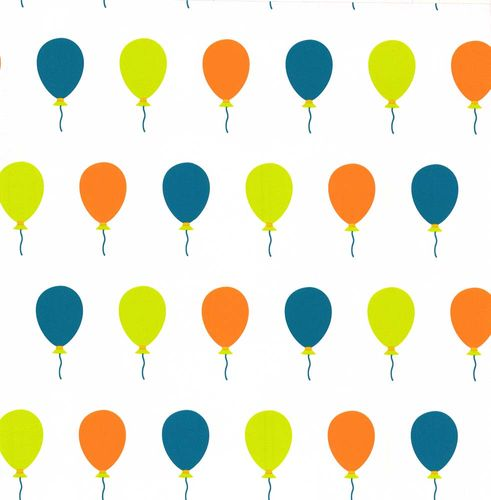 Kids Wallpaper Die Maus balloons white green 05212-30 online kaufen