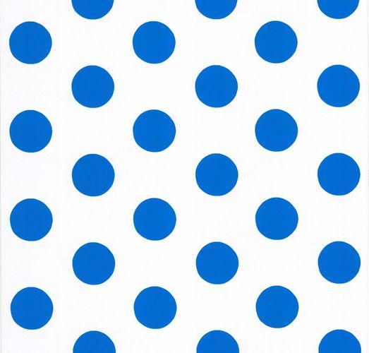 Die Maus Tapete Kinder Punkte weiß blau 05213-10 online kaufen