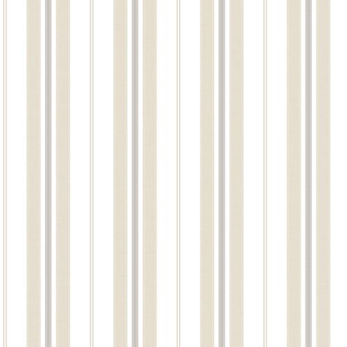 Kids Wallpaper stripes beige grey World Wide Walls 303231