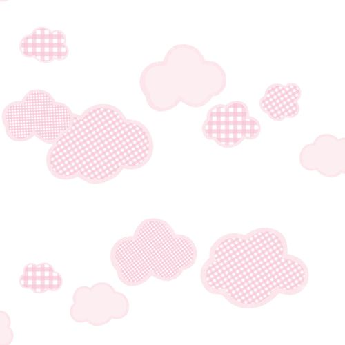 Kids Wallpaper clouds square rose Rasch Textil 303268 online kaufen