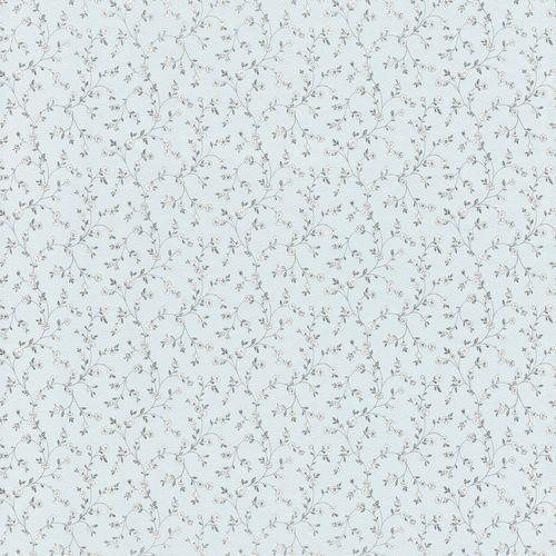 Wallpaper Rasch Textil bloom tendril light blue grey 288772