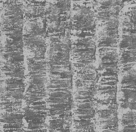 Kretschmer Deluxe Wallpaper striped silver brown metallic 41001-30