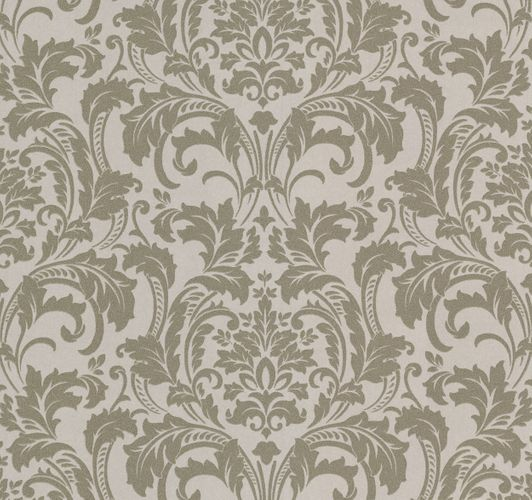 Kretschmer Deluxe Wallpaper damask glass beads beige gold 41005-50 online kaufen