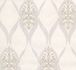 Kretschmer Deluxe Wallpaper orient glass beads white silver 41006-10 001