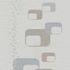 Vliestapete Retro Kacheln weiß grau Glanz P+S Novara 13586-20 1