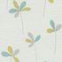 Vliestapete Blumen Floral weiß grün Glitzer P+S Novara 13596-20 1
