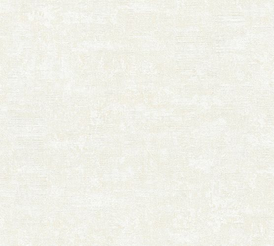Wallpaper plain texture white cream livingwalls 35999-4