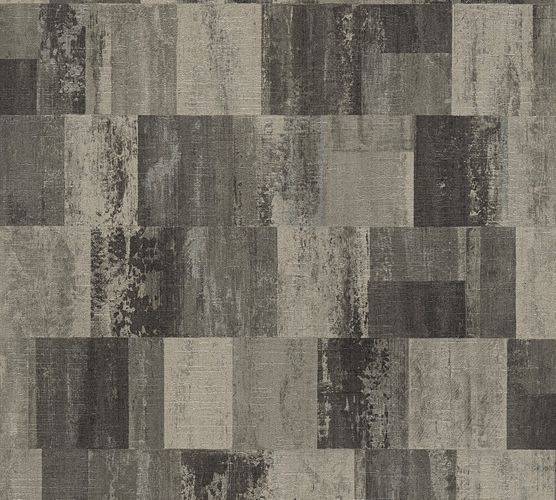 Wallpaper used design taupe black livingwalls 36002-4