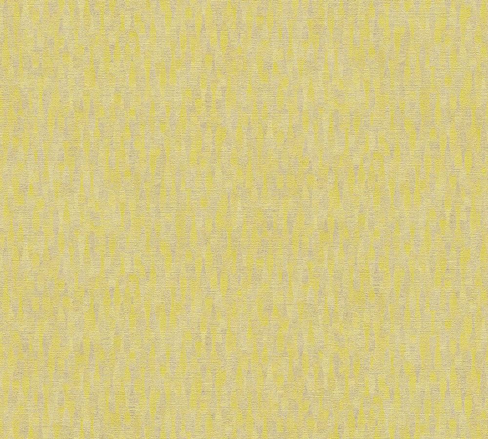 Vliestapete muster design gelb silber livingwalls 36003 2 for Vliestapete muster