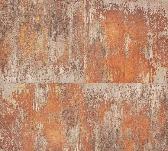 Wallpaper Neue Bude 2.0 metal patina rusty brown grey 36118-2 online kaufen