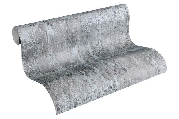 Wallpaper Neue Bude 2.0 metal patina grey black 36118-3 online kaufen