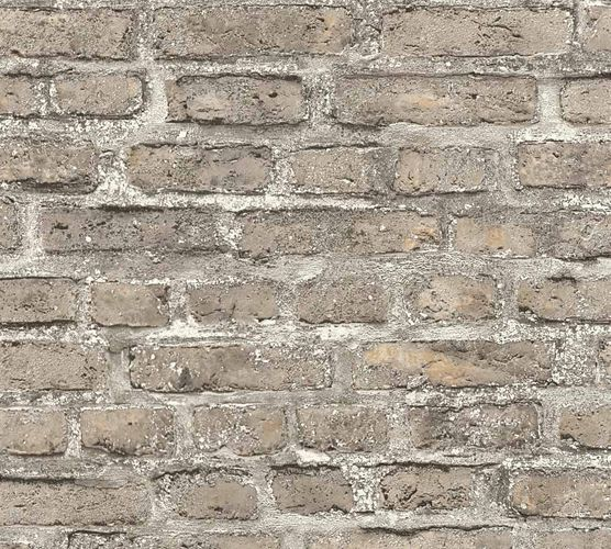 Wallpaper Neue Bude 2.0 stone bricks wall beige grey 36139-4 online kaufen