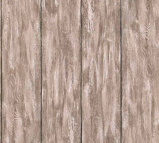 Wallpaper Neue Bude 2.0 wooden board design brown 36152-4 online kaufen
