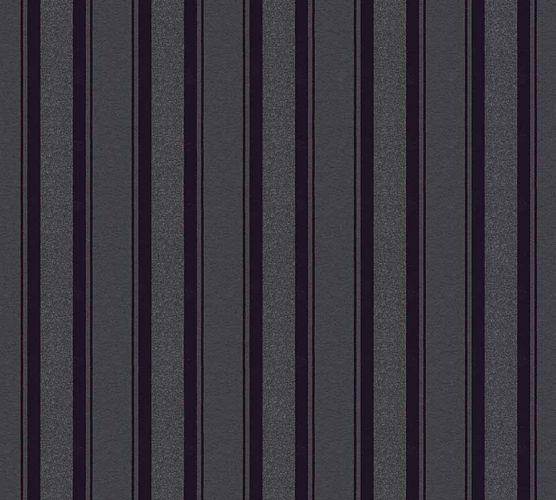 Wallpaper Neue Bude 2.0 stripes black anthracite 36167-3 online kaufen