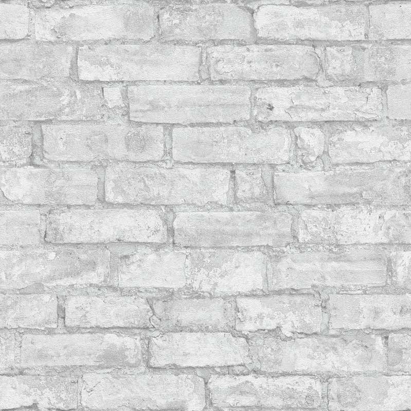 Wallpaper 3d Stone Bricks Light Grey Erismann 6318 10