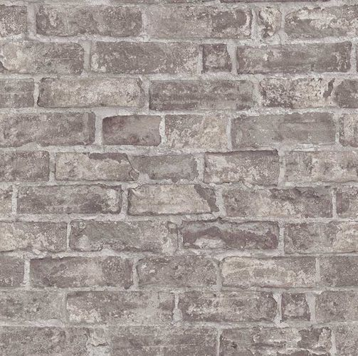 Wallpaper 3D stone bricks dark grey Erismann 6318-11