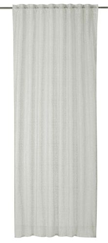Loop Curtain plain ecru semi-transparent Charisma 198992