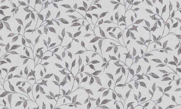 Vliestapete Blätter grau silber Erismann Vintage 6333-10