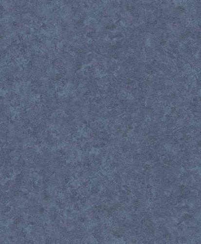 Vliestapete Uni Used blau Erismann Vintage 6338-08
