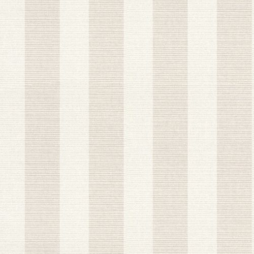 Non-woven Wallpaper Block Stripes cream Metallic 228648 online kaufen