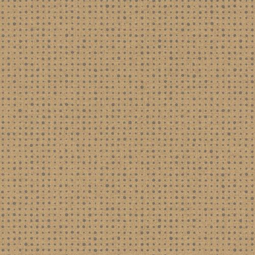 Non-woven Wallpaper Dots gold grey Metallic 228853 online kaufen