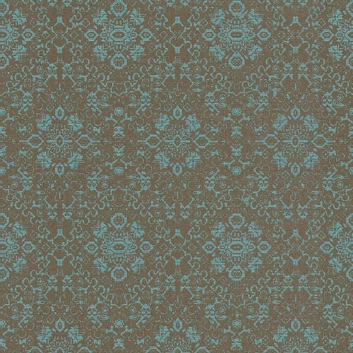 Wallpaper Rasch Textil Palau ornament petrol 228938