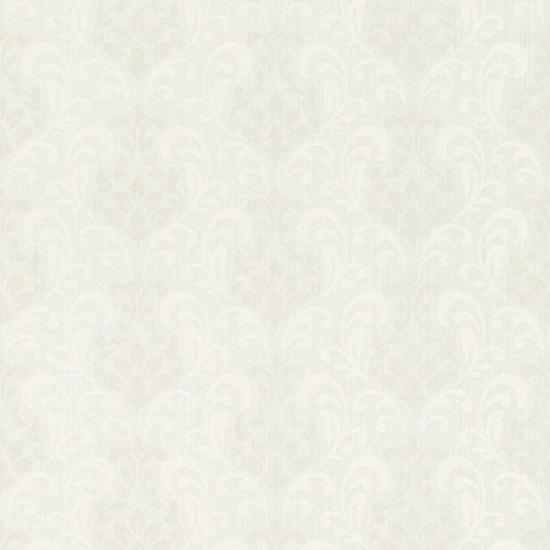 Textile Wallpaper Rasch Textil Sky ornament white grey 082394