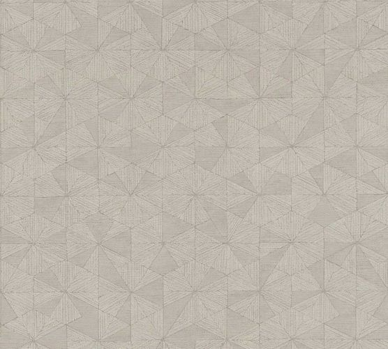 Wallpaper graphic design taupe AS Creation 35895-4