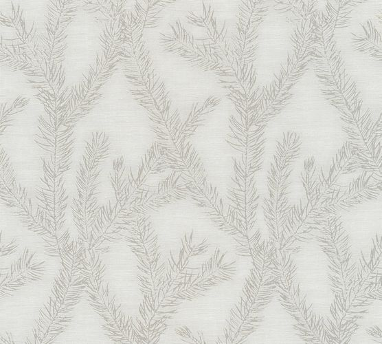Wallpaper tendril cream silver AS Creation 35898-2