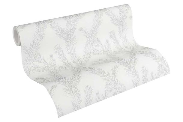 Wallpaper tendril white silver AS Creation 35898-4 online kaufen