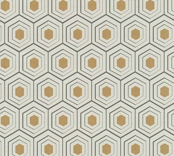 Wallpaper comb pattern beige AS Creation 35899-1