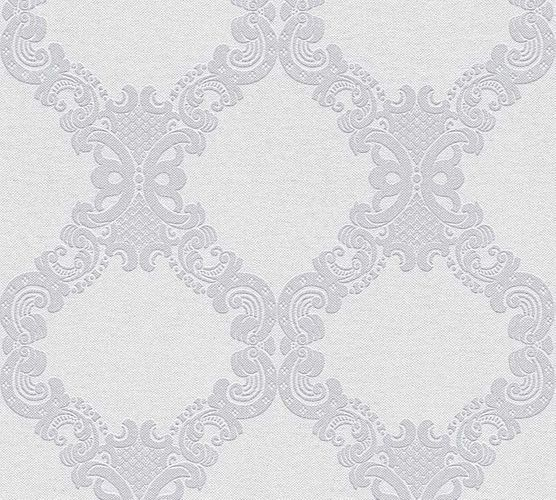 Wallpaper baroque white grey AS Creation 36090-3