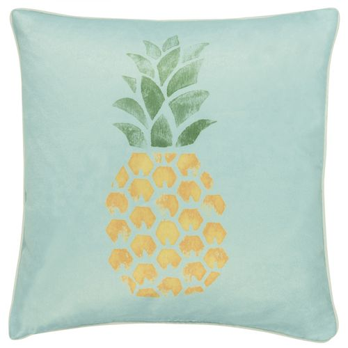 Pillow Case Barbara Becker pineapple graphic blue 45x45cm