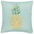 Pillow Case Barbara Becker pineapple graphic blue 45x45cm 001